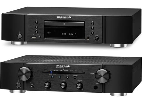 MARANTZ PM6006 Noir + CD6006 Noir