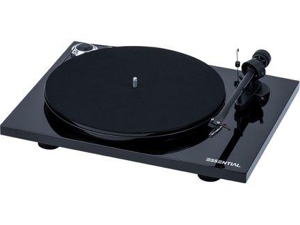 PROJECT ESSENTIAL III BT Piano Black (avec OM10)