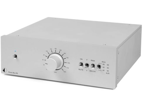 PROJECT Phono Box RS Silver