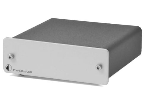 PROJECT Phono Box USB DC Silver