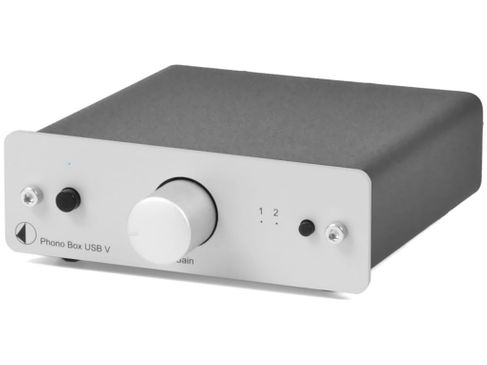 PROJECT Phono Box USB V DC Silver