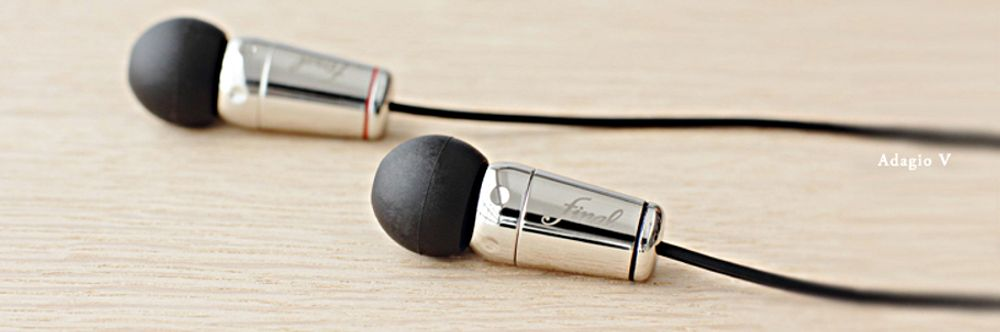 Casque intra Final Audio Adagio V