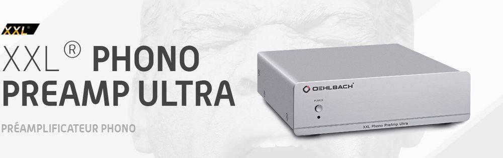 Oehlbach XXL Phono Preamp Ultra