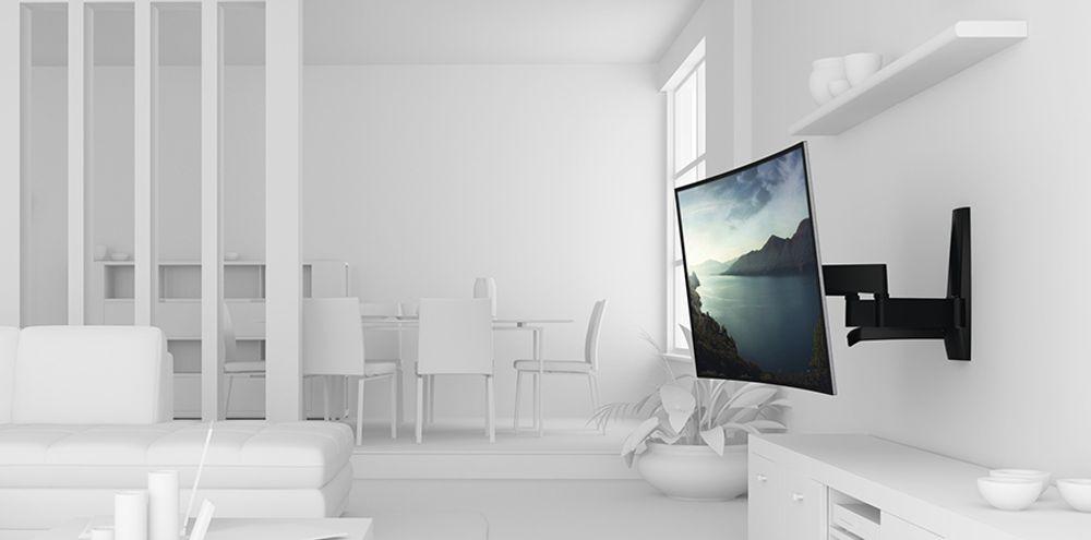 Support mural inclinable pour écran plat de 40 à 65 pouces (101 à 165 cm) - VOGEL'S WALL 2350