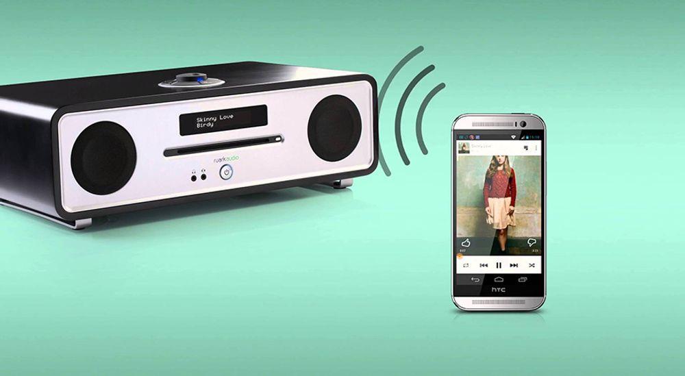 Radio 2.1 de classe Hi-Fi avec FM RDS, DAB+, lecteur CD et Bluetooth® - RUARK AUDIO R4 MK3