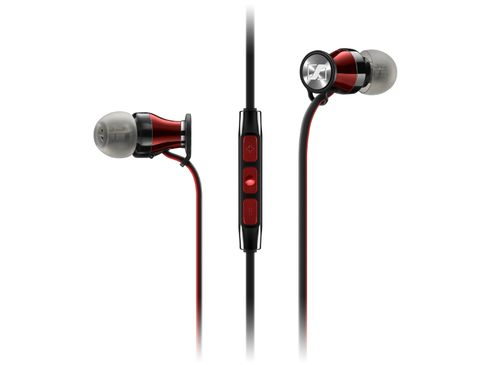 SENNHEISER MOMENTUM In-Ear i Noir/Rouge (Apple)
