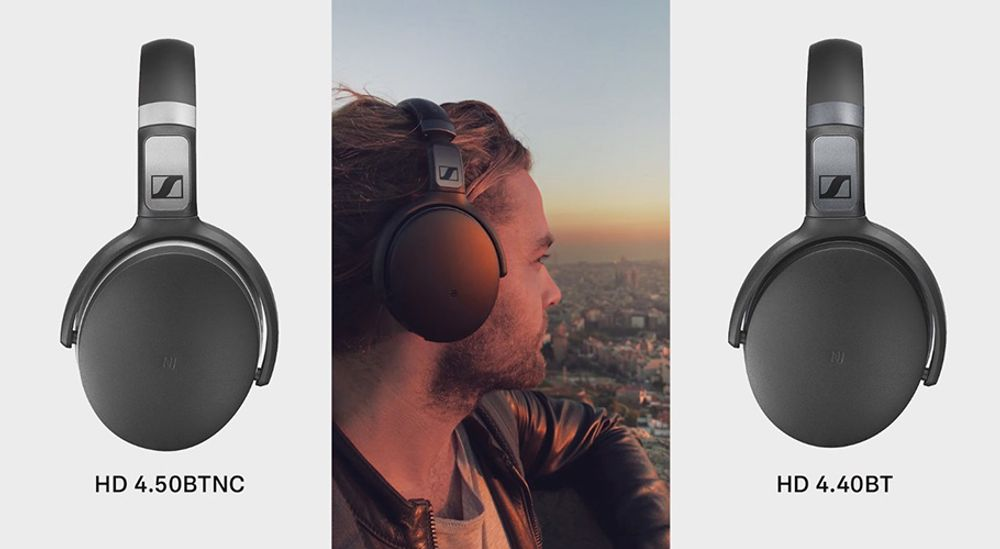 Casque audio circum-aural sans fil Bluetooth® 4.0 aptX® -  SENNHEISER HD 4.40 BT Wireless