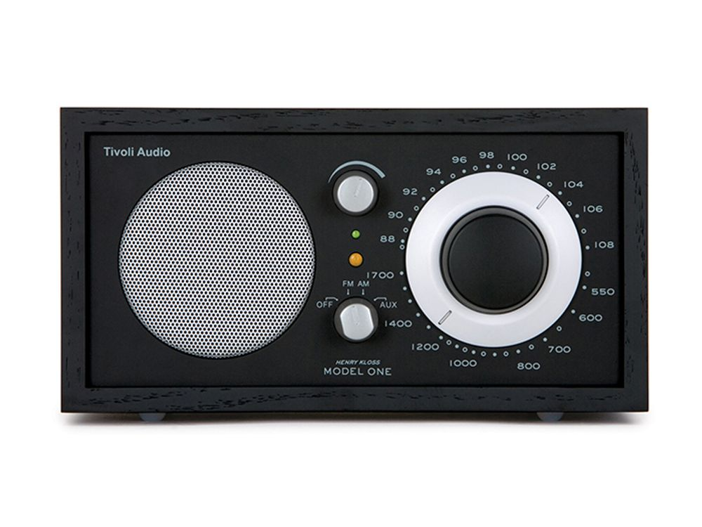 Radio AM/FM analogique avec haut-parleur longue portée - TIVOLI Model One®