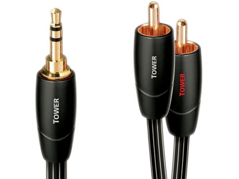AUDIOQUEST Tower RCA/Jack 3.5mm (12m) (Stock B)