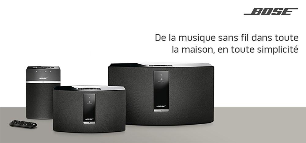Système audio sans fil sans-fil Multiroom - BOSE® SoundTouch® 10