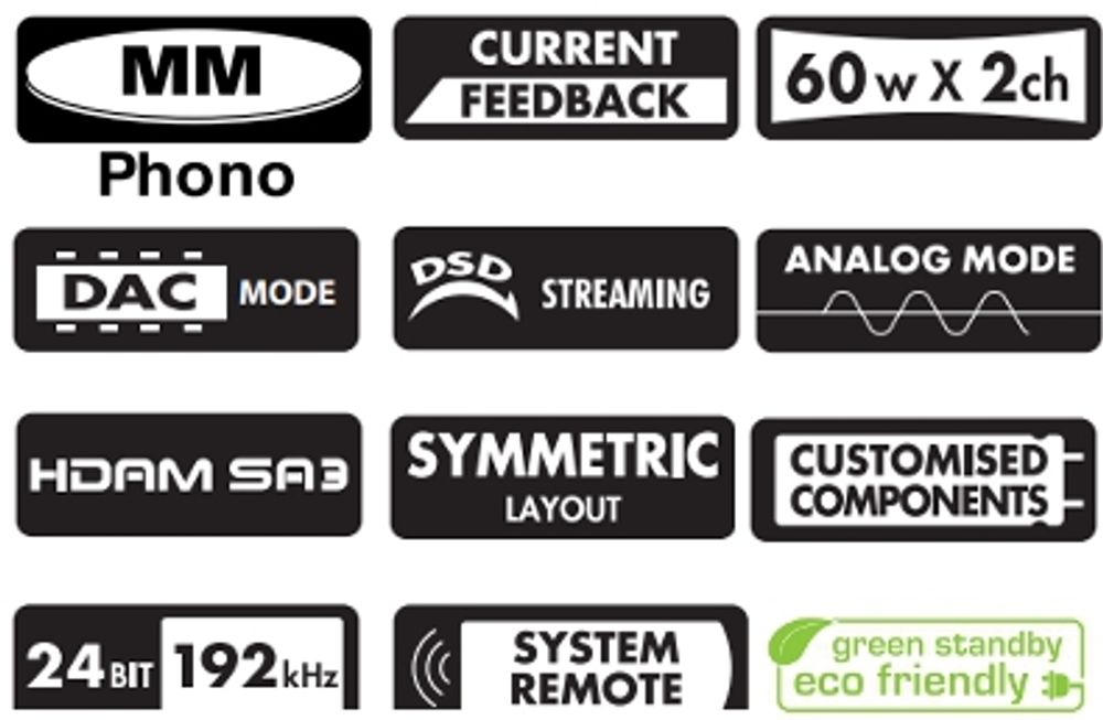 Ampli Marantz PM7005 : entrées numériques et port USB asynchrone