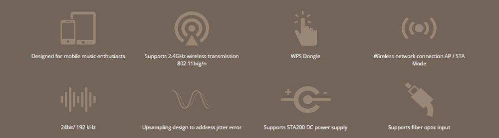 Nuforce WDC 200 en mise en situation