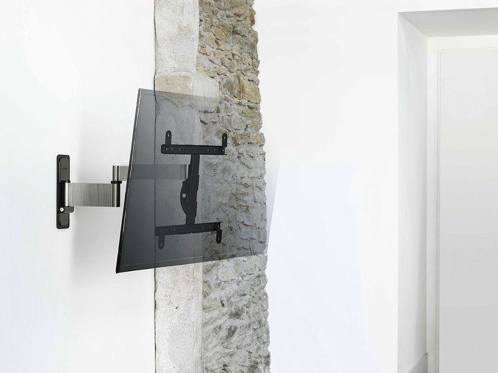 support tv mural orientable et inclinable erard exo. Black Bedroom Furniture Sets. Home Design Ideas