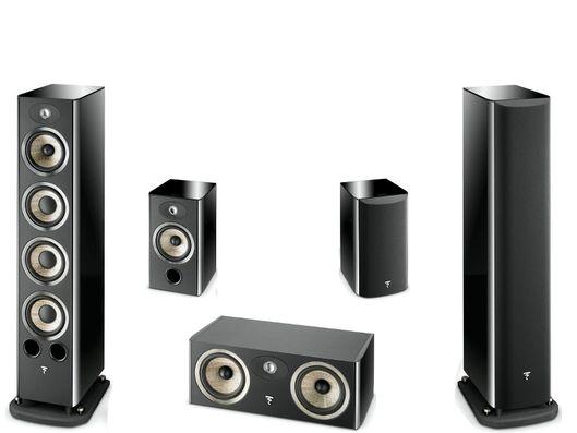 FOCAL Pack 5.0 ARIA 936 + CC900 + 906 Black High Gloss
