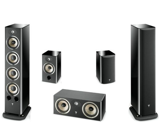 FOCAL Pack 5.0 ARIA 936 + CC900 + 906 Black