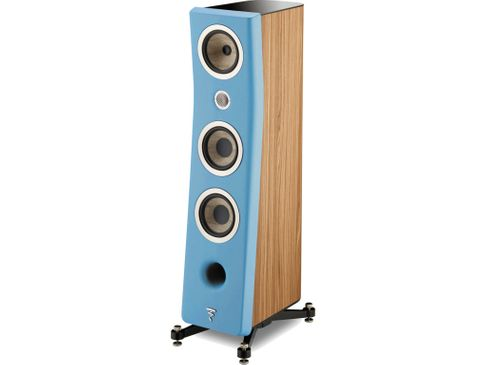 FOCAL KANTA N°2 Walnut / Gauloise Blue Mat