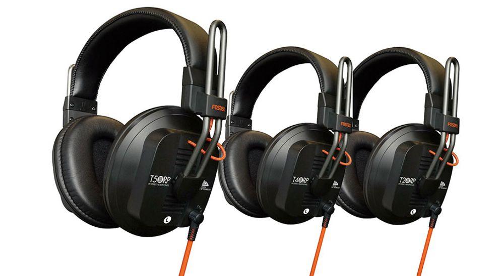 Casque audio professionnel semi-ouvert circum-aural avec cordons amovibles - FOSTEX T50RP mk3
