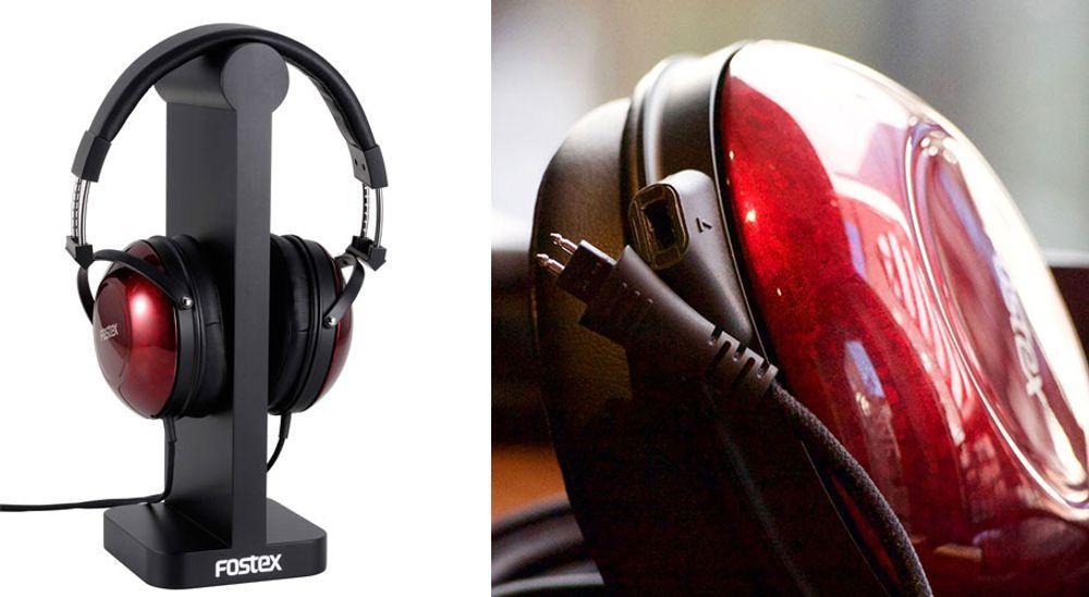 Casque Hi-Fi Premium circum-aural avec transducteurs dynamiques de 50 mm – FOSTEX TH900mk2