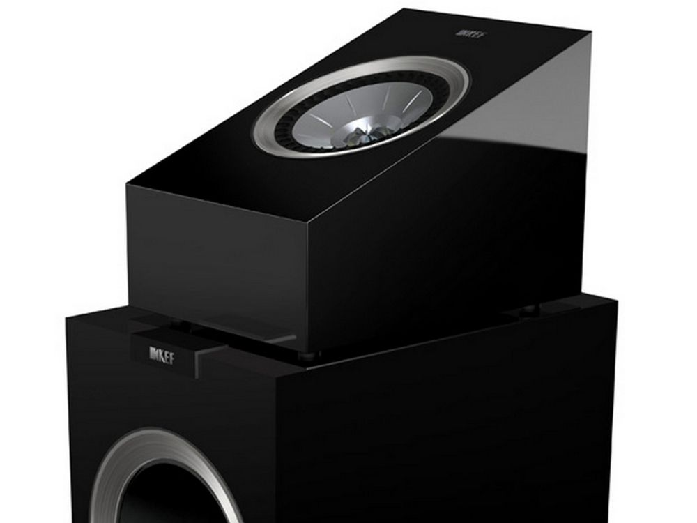 kef r50 noir atmos enceintes surround. Black Bedroom Furniture Sets. Home Design Ideas