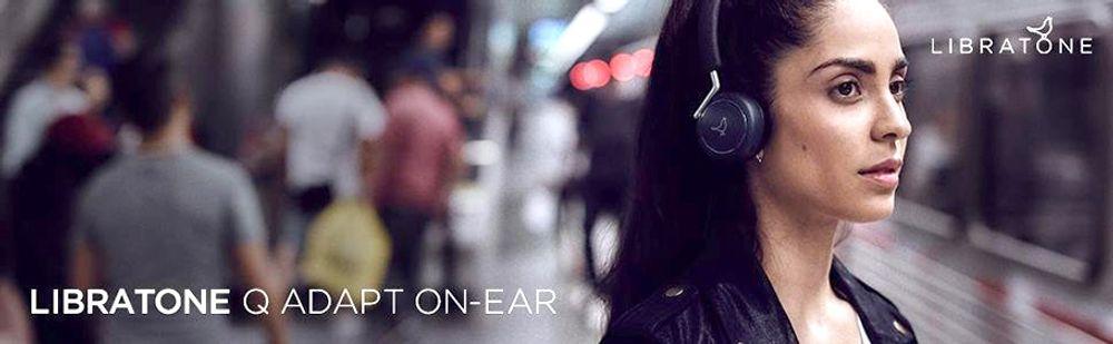 Casque supra-aural sans fil Bluetooth® avec système intelligent de contrôle du bruit CityMix™ - LIBRATONE Q ADAPT ON-EAR