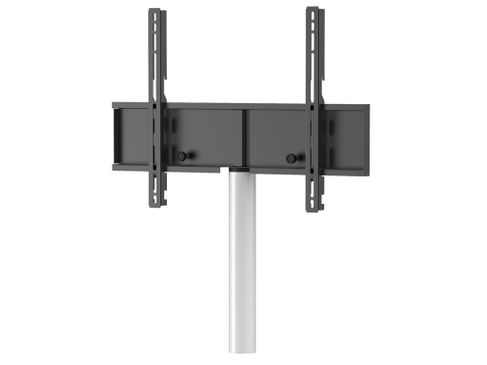 MELICONI Fixation TV rotative avec colonne blanc