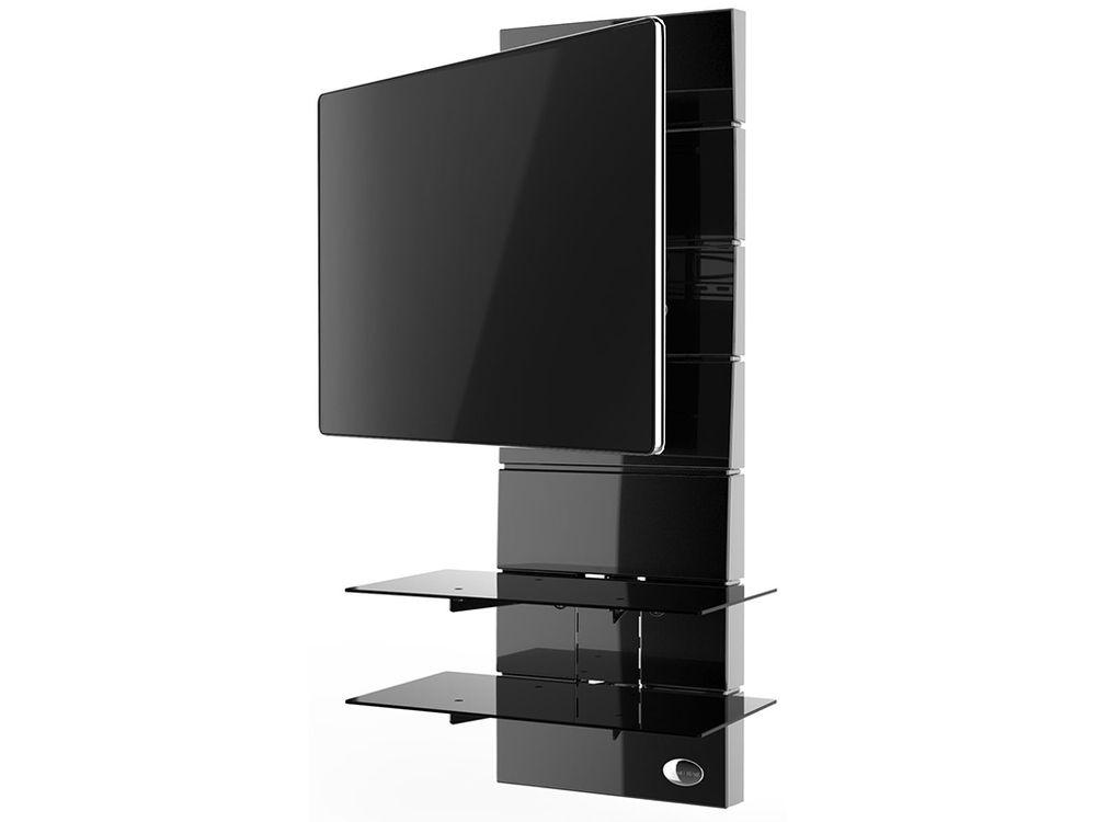 Meliconi ghost design 3000 r noir supports tv - Support tv design ...
