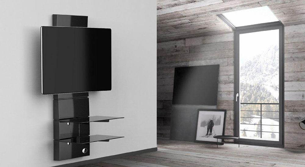 Support mural pour TV écran plat de 32 à 63 pouces jusqu'à 70kg - MELICONI Ghost Design 3000