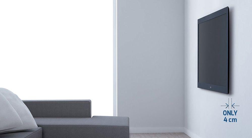 Support mural inclinable et orientable pour écran plat de 40 à 50 pouces jusqu'à 30 kg - MELICONI Slimstyle 400SR