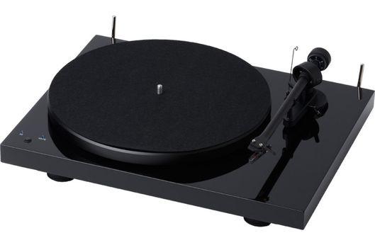 PROJECT DEBUT RecordMaster Noir Laqué avec cellule OM5