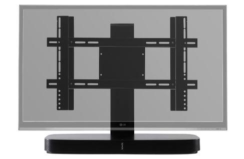 FLEXSON TV Stand Ajustable SONOS PLAYBASE Noir