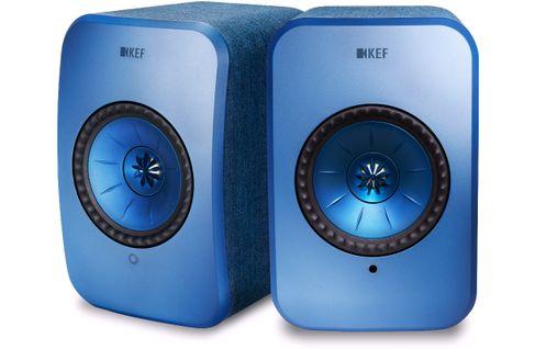 KEF LSX Bleu (la paire)
