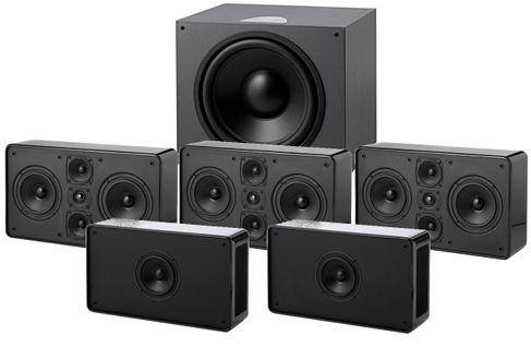 JAMO D500 THX III Noir (Sub D600 THX)