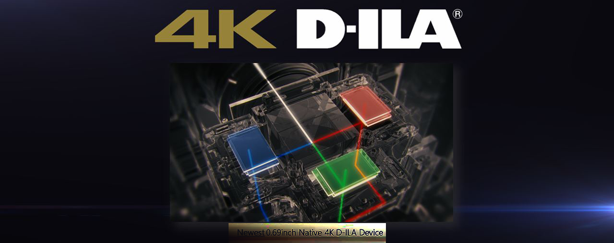 Vidéoprojecteur Ultra HD 4K (DCI) avec certification ISF C3 compatible HDR10, HLG et 3D - JVC DLA-N7BE