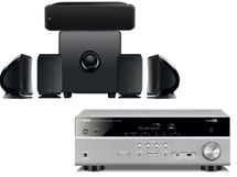 YAMAHA RX-V385 Titane + FOCAL Pack Cinema Plus