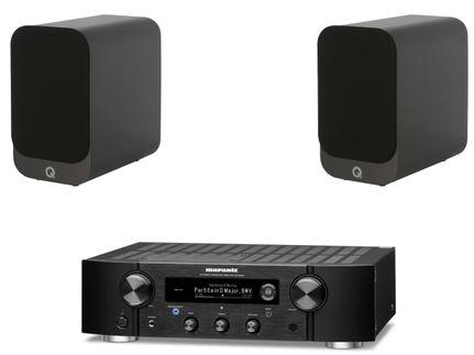 Marantz PM7000N Noir + Q Acoustics 3010i Noir