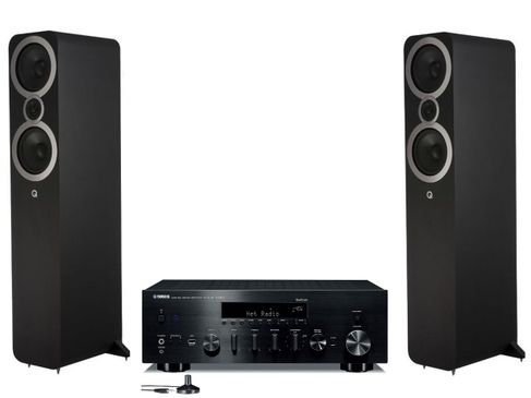 Yamaha R-N803D Noir + Q Acoustics 3050i Noir