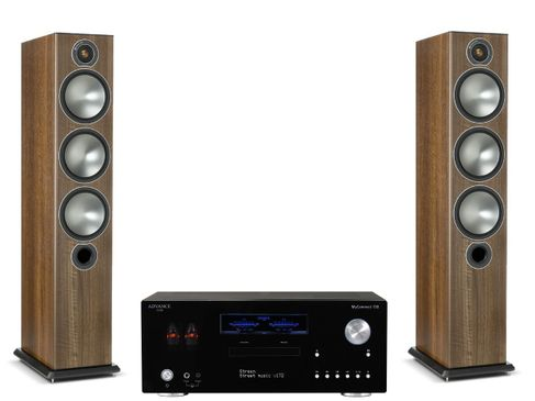 Advance Paris MyConnect 150 + Monitor Audio Bronze 6 Noyer