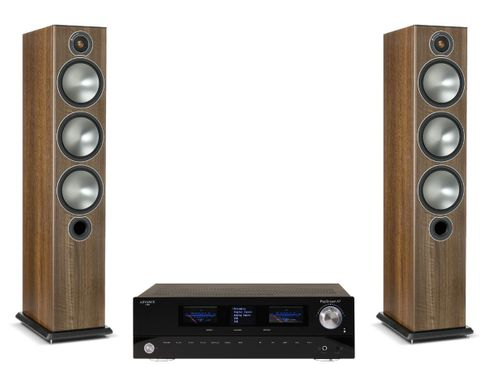 Advance Paris PlayStream A7 + Monitor Audio Bronze 6 Noyer