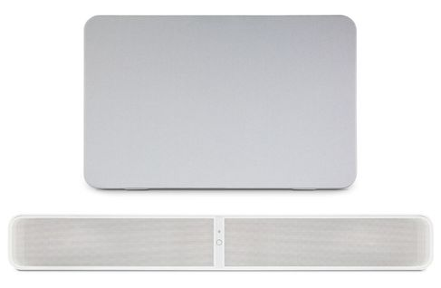 BLUESOUND PULSE SOUNDBAR 2i Blanc + PULSE SUB Blanc