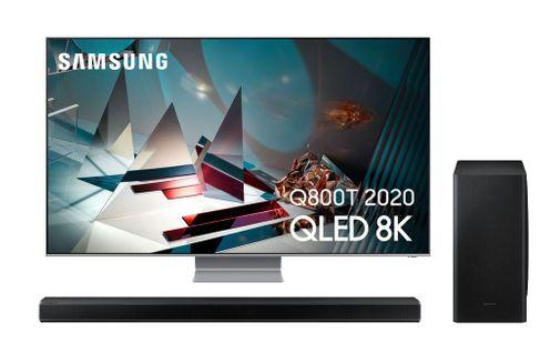SAMSUNG QE75Q800TA 2020 + SAMSUNG HW-Q800T