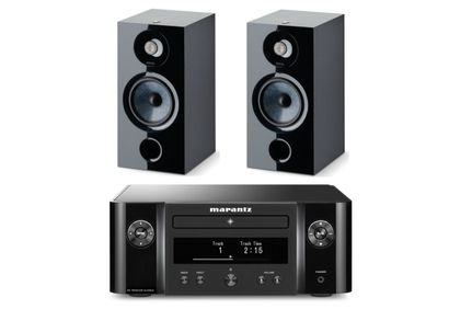 MARANTZ MELODY X (M-CR612) Noir + FOCAL CHORA 806 Black