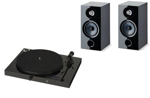PROJECT JUKE BOX E Piano Black (avec OM5)  + FOCAL CHORA 806 Black