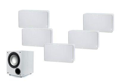 JAMO D500 Pack 5.1 Blanc