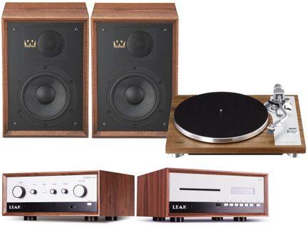 Leak Stereo 130 + CDT + Teac TN-4D + Wharfedale Denton 85 Walnut