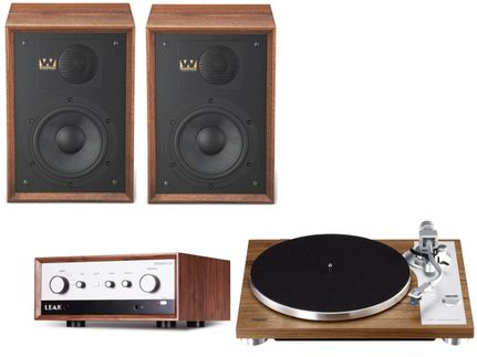Leak Stereo 130 + Teac TN-4D + Wharfedale Denton 85 Walnut