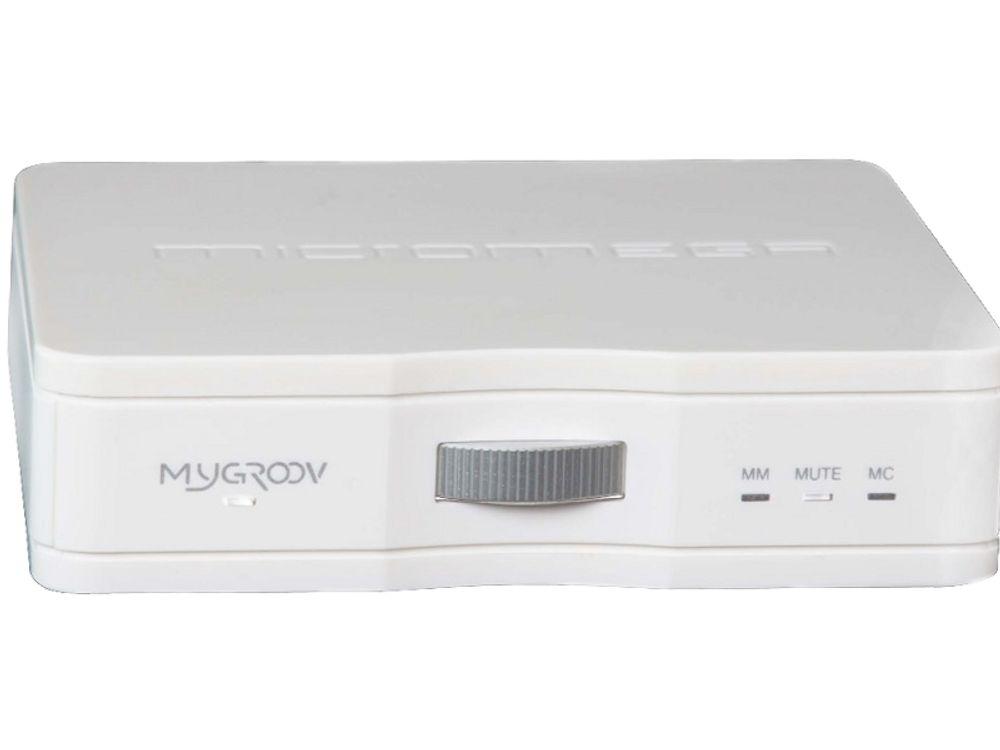 Le Micromega Mygroov est doté d'une entrée RCA différentielle