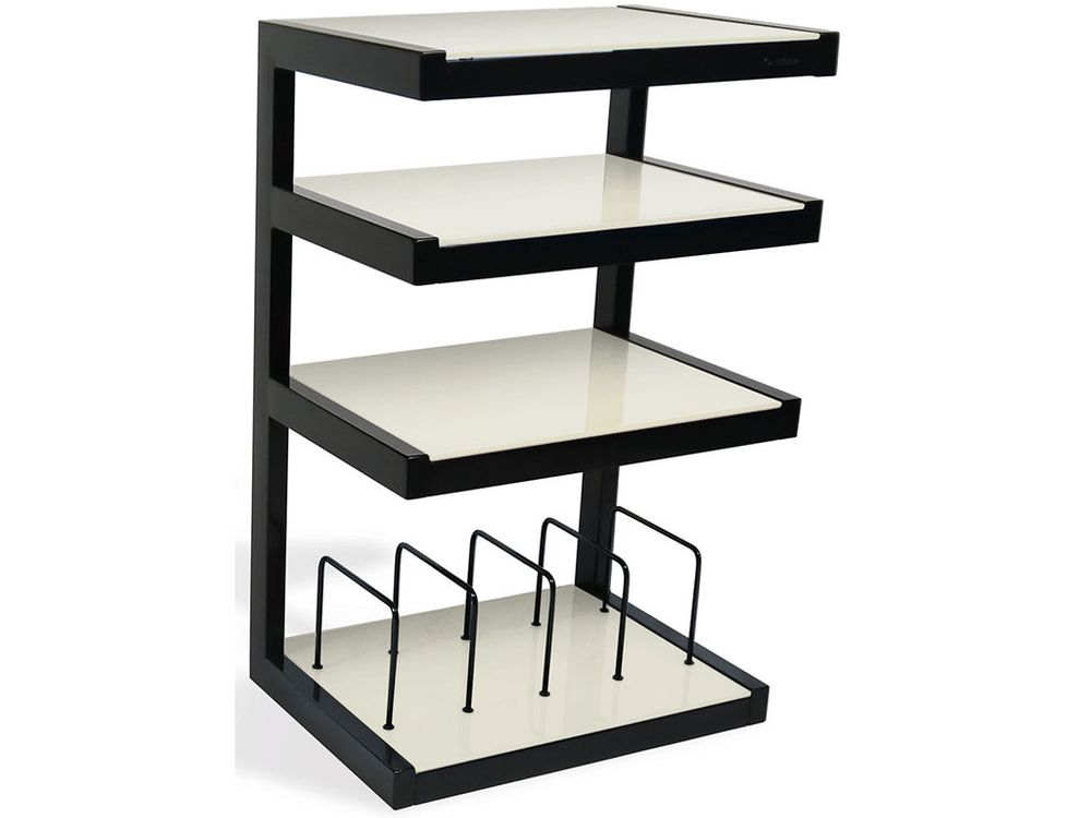 Norstone esse hifi vinyl noir d poli meubles hi fi - Meuble tv chaine hifi ...